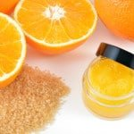 DIY Citrus Foot Scrub