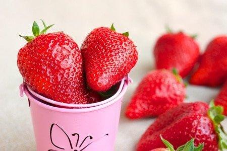 Strawberries for Skin Health